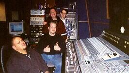 Recording at Big Blue Meenie