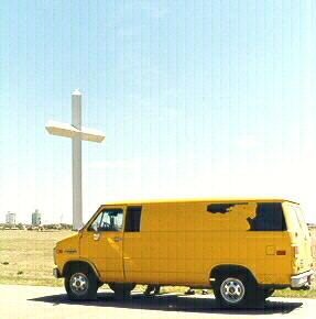 Christ on Wheels. The TFJ Tour Van.